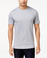 Alfani Men's Mercerized Textured Cotton Crew Neck T-Shirt, Only at Macy's