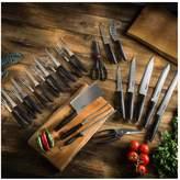 Tower Essentials 24-Piece Stainless Steel Blade Knife Set