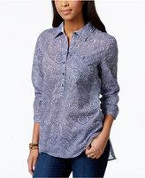 Tommy Hilfiger Printed Popover Shirt