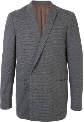 Kolor Double-Breasted Fitted Blazer