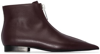 Stella McCartney Zip-Front Ankle Boots