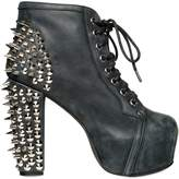 Jeffrey Campbell 120mm Lita Leather Spiked Boots