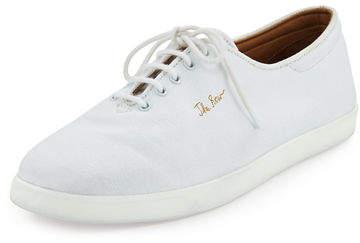 The Row Dean Canvas Tennis Shoes