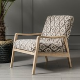 Graham and Green Mina Printed Constantin Armchair
