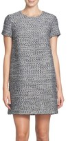 CeCe Women's Kayte Metallic Tweed Shift Dress