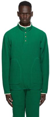 Aimé Leon Dore Green Deep Pile Sweatshirt
