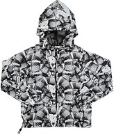Marcelo Burlon County of Milan SNAKE-PRINT WINDBREAKER-WHITE SIZE 2
