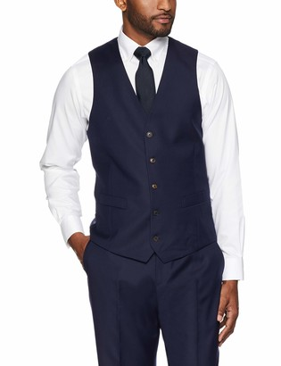 Buttoned Down Amazon Brand Men's Tailored Fit Super 110 Italian Wool Suit Vest