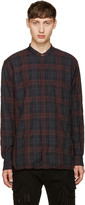 Paul Smith Burgundy Check Shirt