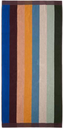Paul Smith Multicolor Artist Stripe Beach Towel