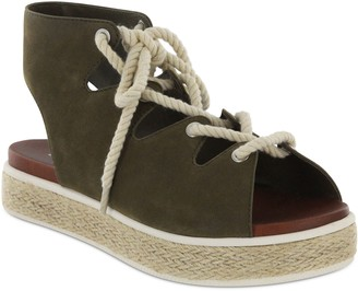 Mia Espadrille Lace-Up Sandals - Delena