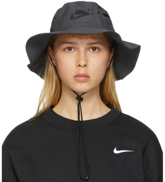 Nike Grey NSW Bucket Hat