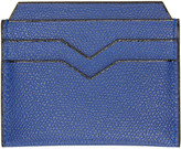 Valextra Blue 4CC Card Holder