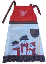 "St. Nicholas Square Adult ""Warm Wishes"" Snowman Holiday Apron"