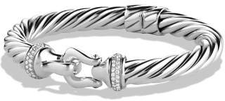 David Yurman Buckle Cable Bracelet with Diamonds