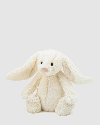 Jellycat White Animals Bashful Cream Bunny Medium - Size One Size at The Iconic