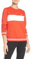adidas Women's Stripe Sweatshirt