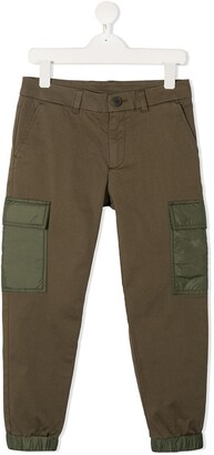 Moncler Enfant Low-Rise Cropped Trousers