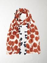 White Stuff Smudgey spot scarf