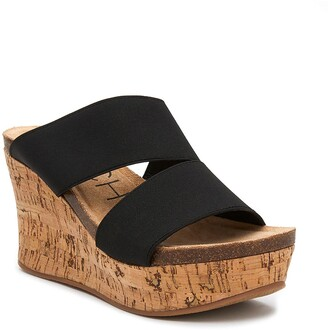 Coconuts by Matisse Bare All Wedge Slide Sandal