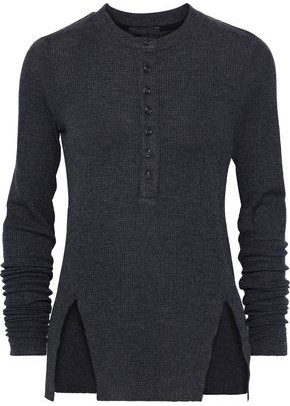 The Range Waffle-knit Top