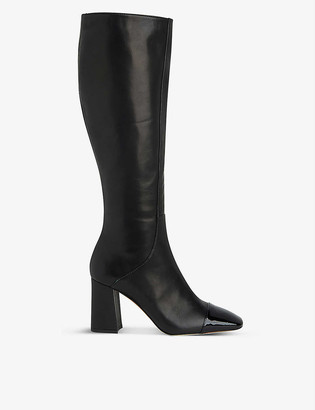 LK Bennett Bess leather knee-high boots