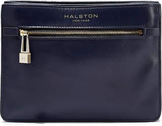 Halston Candice Leather Shoulder Bag