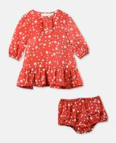 Stella McCartney astrid red festive dress