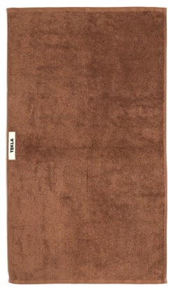 Tekla - Organic-cotton Bath Sheet - Brown