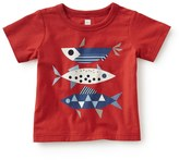 Tea Collection Red Fish Graphic T-Shirt (Baby Boys)