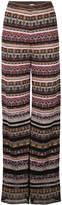 M Missoni patterned palazzo pants