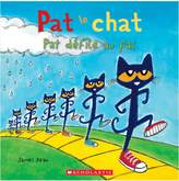 Scholastic Pete The Cat: The Petes Go Marching Book - French Version