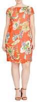 Lauren Ralph Lauren Plus Floral Shift Dress