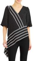 Lauren Ralph Lauren Printed Georgette Top