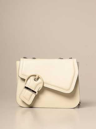 Lancel Crossbody Bags Adele Bag In Smooth And Scratch-resistant Leather With Buckle