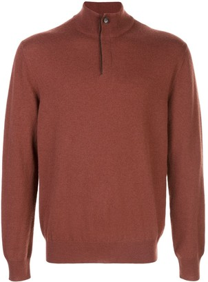 Ermenegildo Zegna Button-Neck Sweater