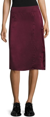 Public School Sana Silk Fitted Skirt