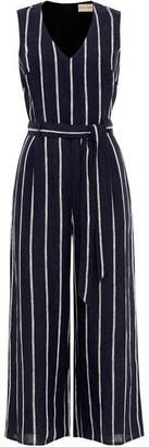 Phase Eight Jennie Linen Stripe Jumpsuit
