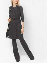 Michael Kors Wool-Blend Twill Vest