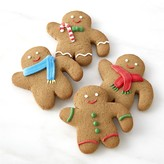 Williams-Sonoma Williams Sonoma Gingerbread Folks Mug Toppers, Set of 4