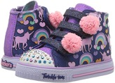 Skechers Twinkle Toes - Shuffles 10813N Lights Girl's Shoes