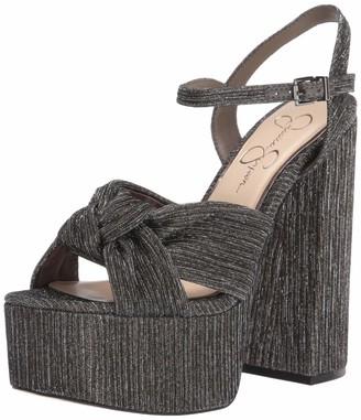 Jessica Simpson Womens Alesta Heeled Sandal
