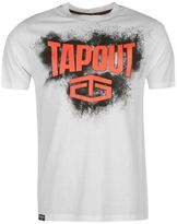 Tapout Mens Placement T Shirt Tee Top Crew Neck Short Sleeve Cotton Regular Fit