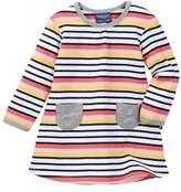 Toobydoo Suunto Striped Pocket Dress (Baby Girls)