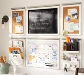 Pottery Barn Mirror with Hooks