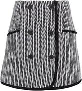 Derek Lam 10 Crosby Striped Tweed Skirt