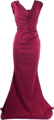 Talbot Runhof Bobina dress