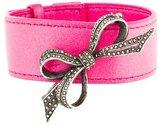 Lalique Bow Pin Wrap Bracelet