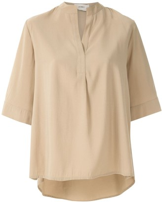 Egrey Otoman relaxed blouse