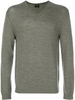 Jil Sander V-neck sweater - men - Wool - 46